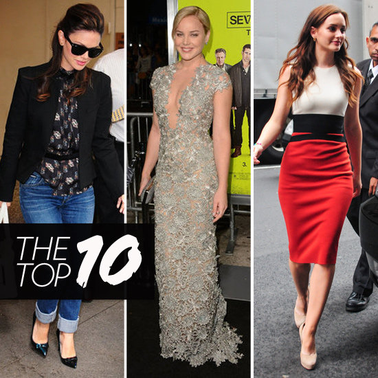 Top Ten Best Dressed Of The Week: Leighton Meester, Abbie Cornish & Rachel Bilson