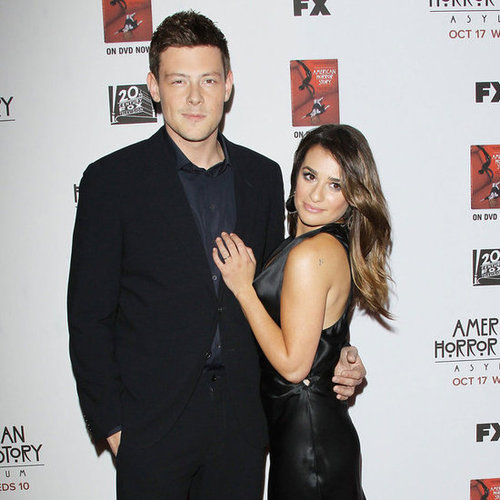 American Horror Story Asylum Premiere Celebrity Pictures of Lea Michele, Cory Monteith and More