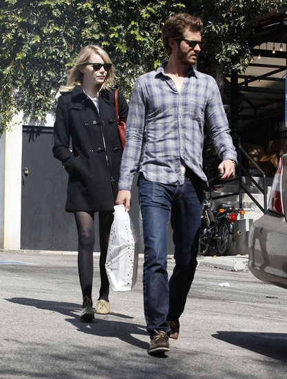 Emma Stone and Andrew Garfield hung out in LA.