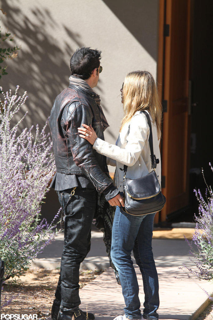 Jennifer Aniston and Justin Theroux spent the weekend in New Mexico.