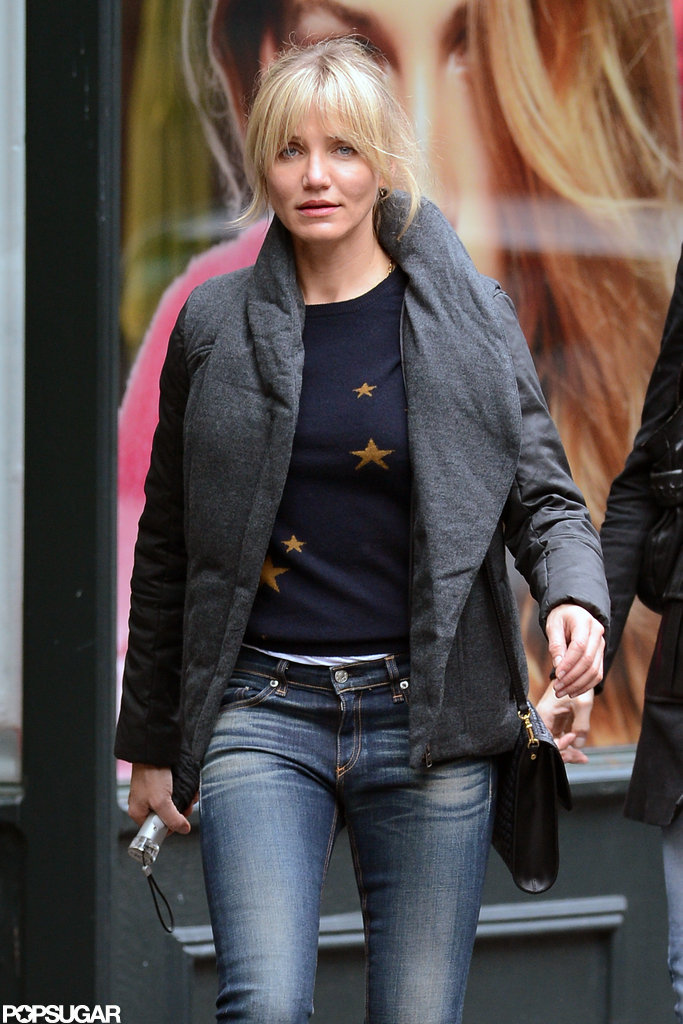 Cameron Diaz spent the day shopping in NYC.