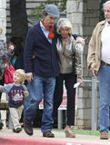Matthew McConaughey Keeps Family Close While Prepping For a Big Role