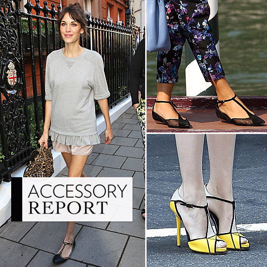 The Hottest Heels to Hit the Pavement All Have T-Straps This Season