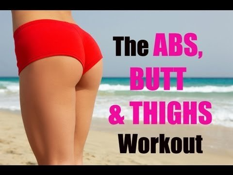 The Abs, Butt & Thighs Workout - 15-Minute, Do Anywhere Routine