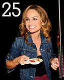 25: The number of meatballs Giada judged at last year's Meatball Madness.