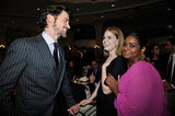 Matt Bomer got a laugh out of Amy Adams and Octavia Spencer at the October 2012 GLSEN Respect Awards held in Beverly Hills.