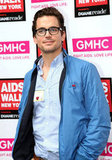 Matt Bomer dressed down for NYC's AIDS Walk in May 2011.
