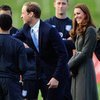 Prince William and Kate Middleton Pictures at Soccer Event at Football Association's National Football Centre