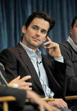 Matt Bomer appeared during White Collar's March 2011 Paleyfest media panel held in Beverly Hills.