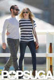 Kate Bosworth and Michael Polish Keep Close in Sydney