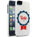 This Election Badge Case ($25) promotes the vote and spreads the word about the upcoming election.