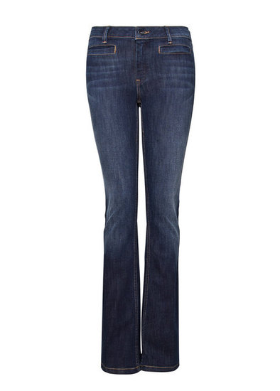 Mango's High Waist Flared Jeans ($40) hit all the right notes — the fit, wash, and price are all perfect.