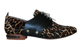 Another saddle shoe example with a cheetah-printed spin, courtesy of the Freda Change ($350).