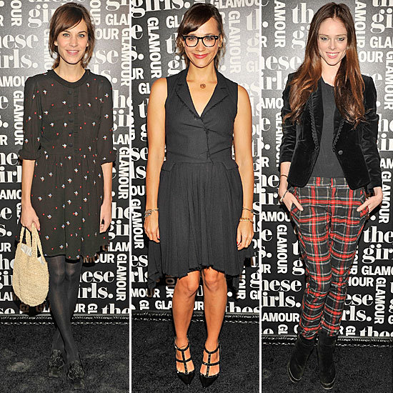 Last Night's Glamour Girls Brought Their Fall Styling Skills to NYC