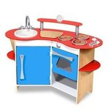 Melissa & Doug Cook's Corner Wooden Kitchen