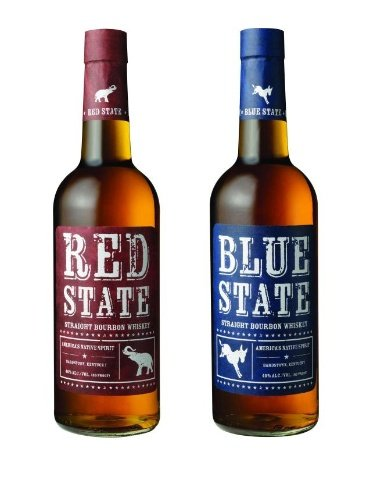 For a festive drink, sip some Red State Blue State Bourbon.