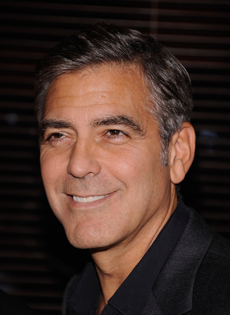 George Clooney was out in NYC for the premiere of Argo.