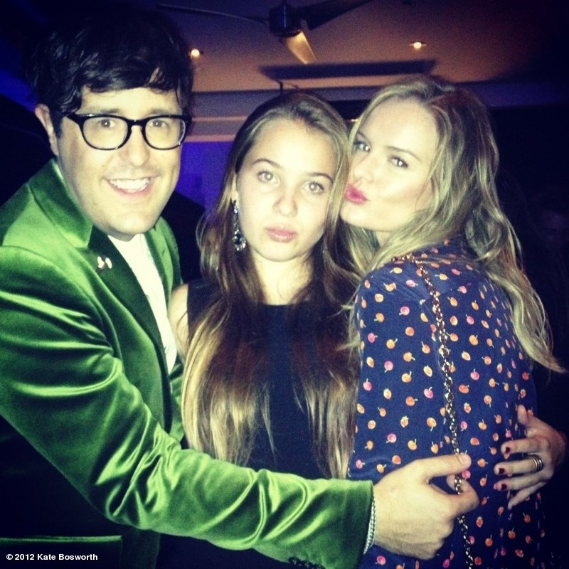 Kate Bosworth attended a Teen Vogue party with Andrew Bevan and her future stepdaughter, Jasper Polish. Source: Kate Bosworth on WhoSay