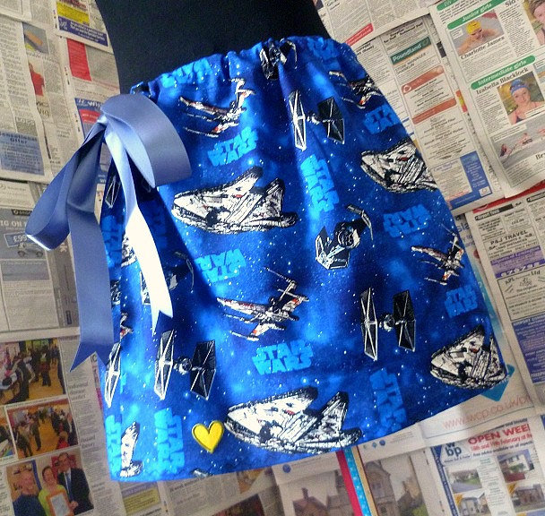 Star Wars Spaceships Skirt ($66)