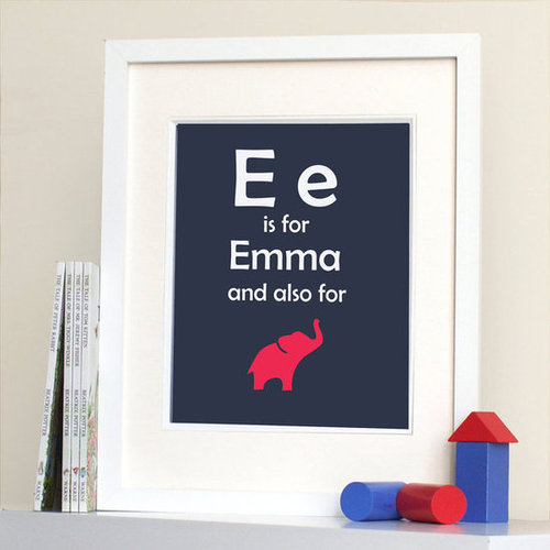 Personalized Art For Kid Rooms