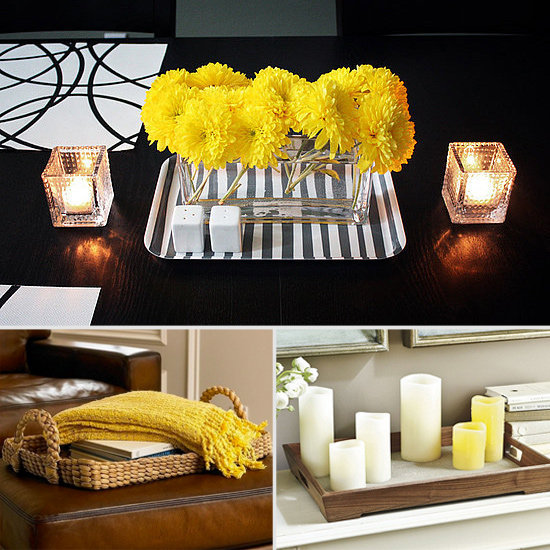 8 Ways to Decorate With Trays Beyond the Tabletop