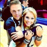 Shawn Johnson had fun with her Dancing With the Stars partner Derek Hough. Source: Instagram user shawnjohnson