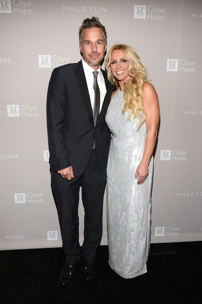 Britney Spears and fiancé Jason Trawick attended the gala honoring Halston CEO Ben Malka in LA.