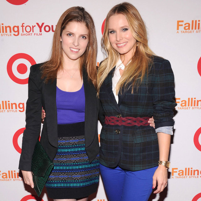 Kristen Bell and Anna Kendrick at Target Party | Pictures