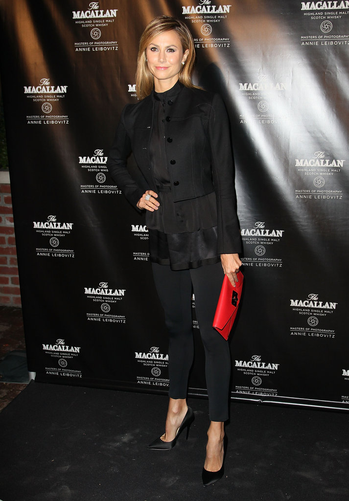 Stacy Keibler posed for photos at the Bowery Hotel for The Macallan Masters of Photography Series Launch in NYC.