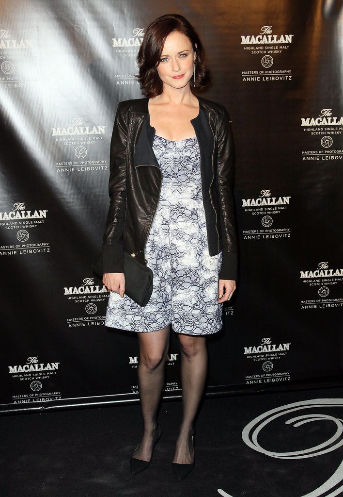 Alexis Bledel stepped out to celebrate The Macallan Masters of Photography Series Launch in NYC.