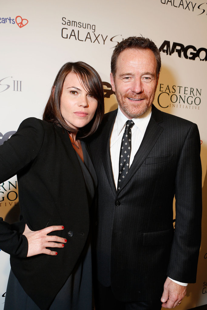 Bryan Cranston posed for a picture with Clea Duvall.