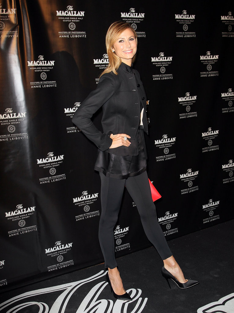 Stacy Keibler went out to celebrate The Macallan Masters of Photography Series Launch in NYC.