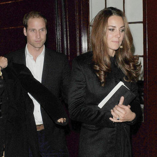 Kate Middleton and Prince William's Night Out at a Club