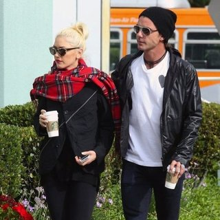 Gwen Stefani and Gavin Rossdale Get Coffee in LA | Pictures