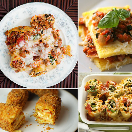Reinvented Kiddie Food: Lasagna