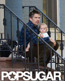 Ethan Hawke was outside in NYC.