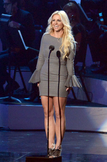 Britney Spears appeared on stage at the event in LA.