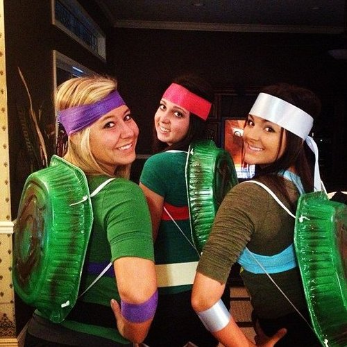 46 Creative Homemade Group Costume Ideas: www.savvysugar.com/budget-tips
