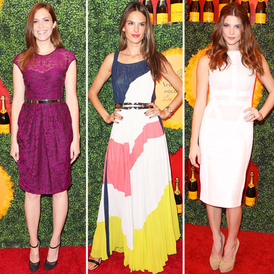 The Veuve Clicquot Polo Classic was an all-out fashion parade.