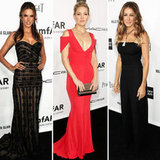 amfAR's Inspiration Gala Shows Smokin' Hot Red Carpet Glamour
