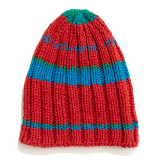 This Madewell 1717 striped beanie ($36) feels old school and artsy, and it looks like something that will definitely serve us well once the first snow hits the ground.