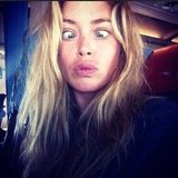 Model Doutzen Kroes gets bored, plays with Instagram. Source: Instagram user doutzenkroes1