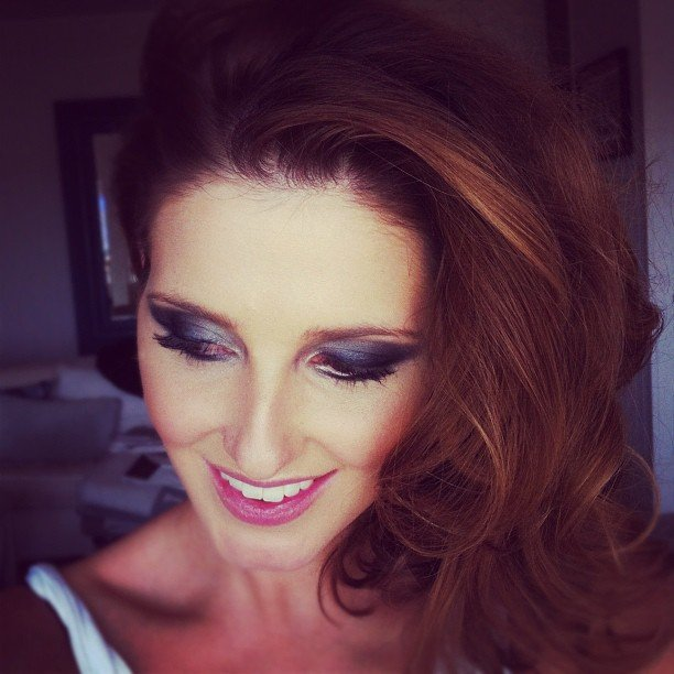 Kate Waterhouse showed off some seriously sexy eye makeup. Source: Instagram user katewaterhouse7
