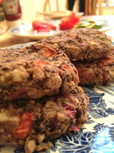 Easy Black Bean Veggie Burger Recipe