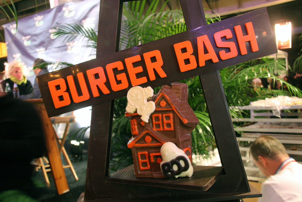 Jacques Torres's Burger Bash Creation
