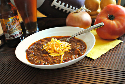 Sweet and Smoky Bison Chili