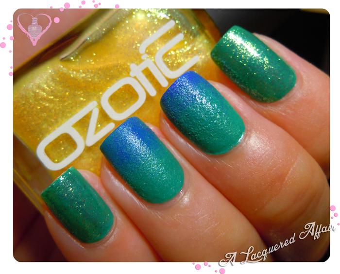 OZOTIC Sugar 904 over Ulta3 Pacific Fever