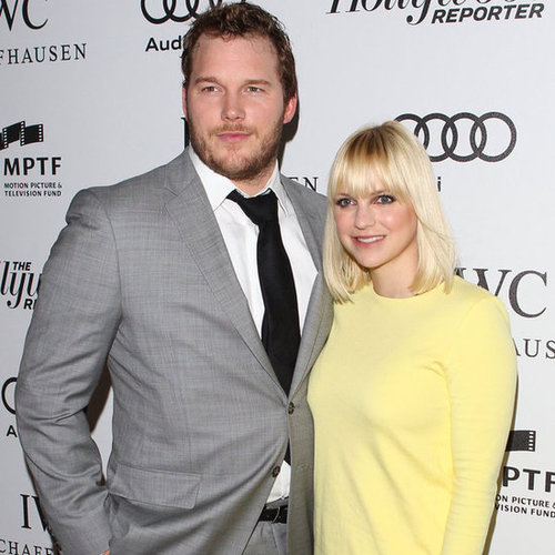 Anna Faris Makes a Red Carpet Return Postbaby
