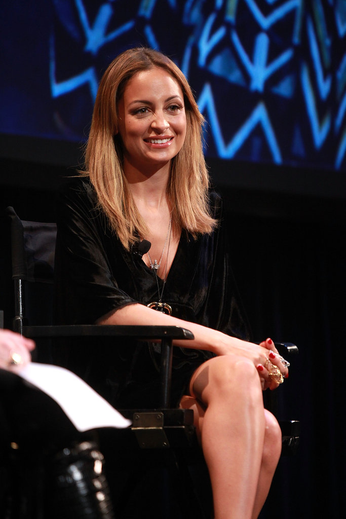 Nicole Richie took the stage at the Teen Vogue Fashion University event in NYC.