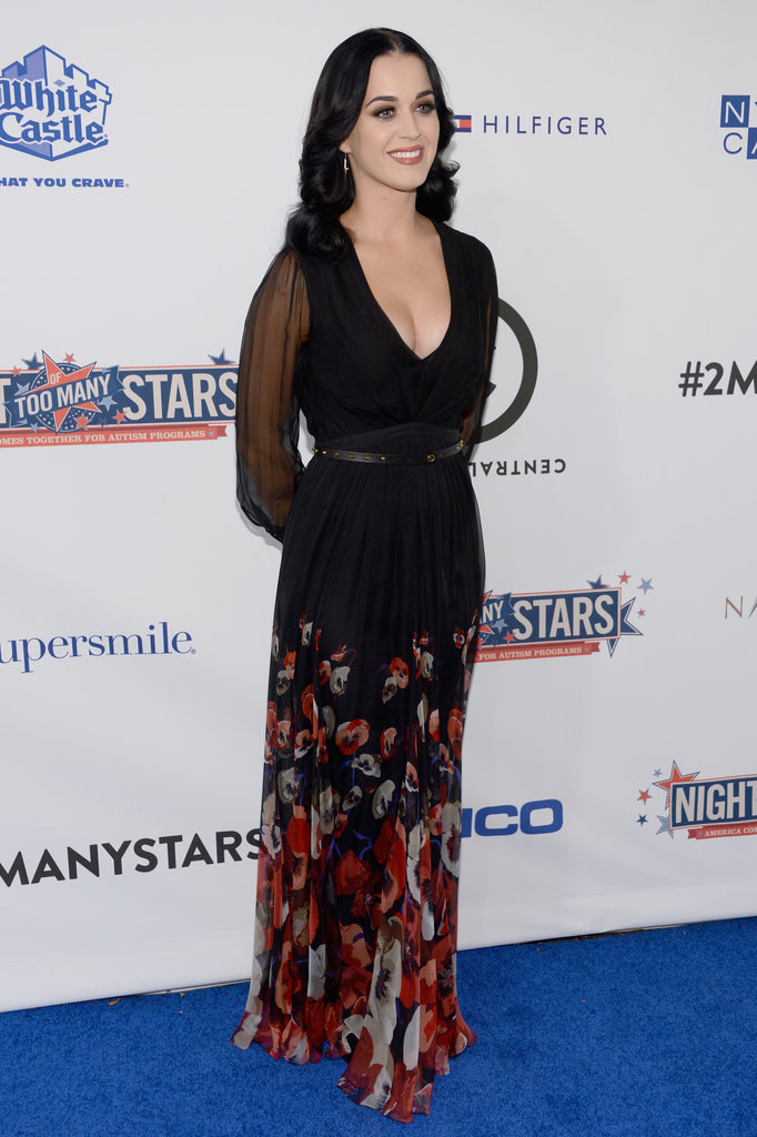 Katy Perry posed for photos at the Night of To Many Stars benefit in NYC